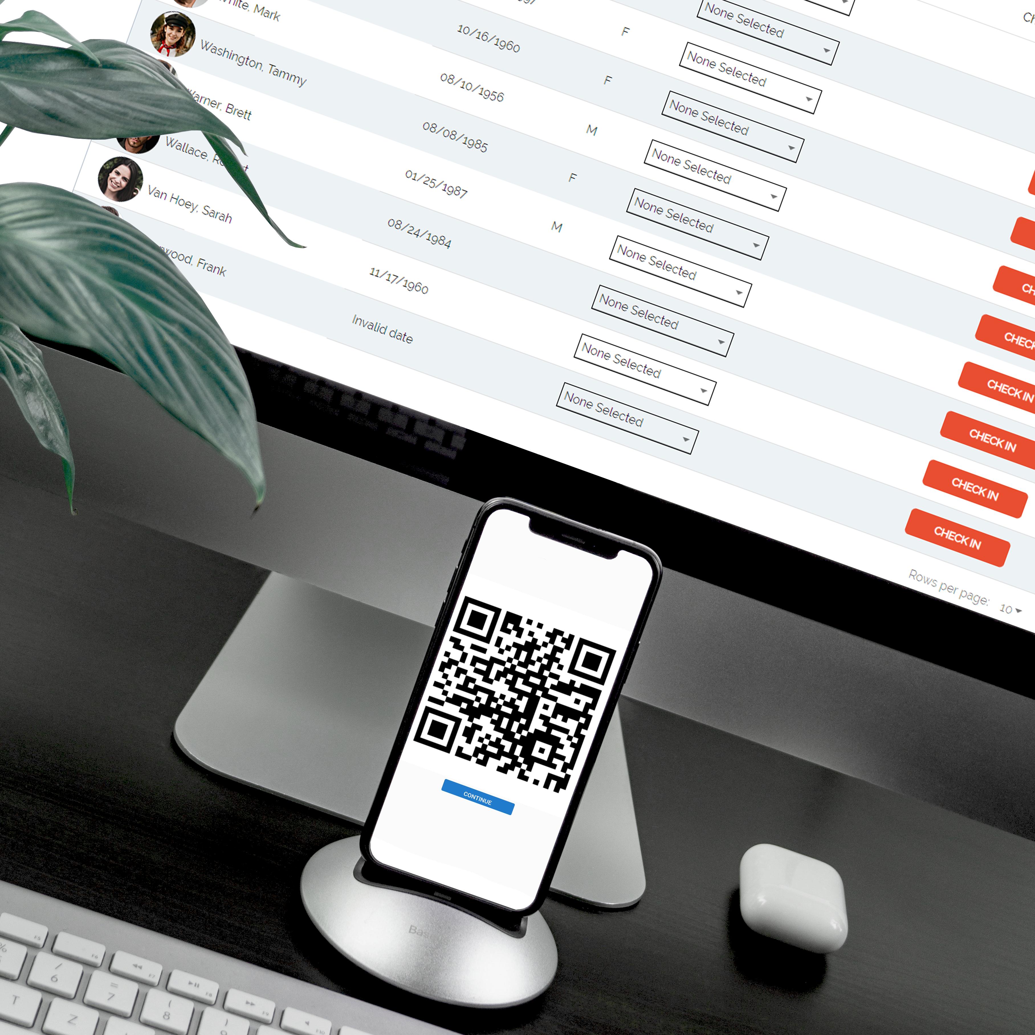Provider Dashboard - QR (square)